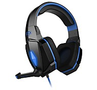 cheap -EACH G4000 Headphone 3.5mm Over Ear Gaming Volume Control with Microphone Stereo For PC