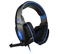 preiswerte -jeder G4000 Kopfhörer 3.5mm über Ohr-Gaming Lautstärkeregler mit Mikrofon Stereo für PC