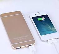 Недорогие -12000mAh Портативный внешний аккумулятор для Iphone 6/6 плюс / 5 / 5s / Samsung S4 / S5 / примечание 2 (разные цвета)