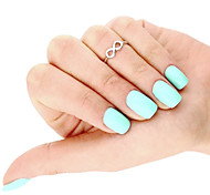 cheap -Toe Ring Infinity Unique Design, European, Simple Style Women's Gold / Silver Body Jewelry For Daily / Casual