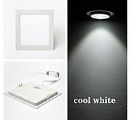 cheap -300 lm LED Panel Lights LED Ceiling Lights Recessed Retrofit 15 leds SMD 2835 Cold White AC 85-265V