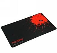первая профессиональная игровая коврик для мыши (41.5x25x0.2cm) -черный