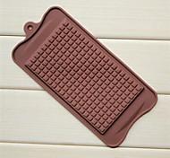 большое шоколадное форма для шоколада, силиконовые 22,5 × 10,5 × 0,5 см (8,9 × 4,1 × 0,2 дюйма)