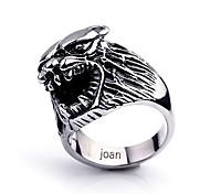 Недорогие -персональный подарок модный волк ювелирные изделия формы из нержавеющей стали выгравирован мужскую кольцо