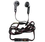 Yuedian m-230 fone de ouvido 3,5 milímetros oi-fi volume da música controlável de ouvido para iphone + telefone mais inteligente