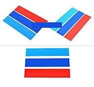 три цвета наклейки украшения автомобиля (3шт)