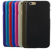 Недорогие -Для Кейс для iPhone 6 / Кейс для iPhone 6 Plus Полупрозрачный Кейс для Задняя крышка Кейс для Один цвет Мягкий TPUiPhone 6s Plus/6 Plus /