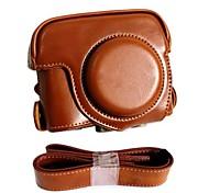 Недорогие -pajiatu® ретро кожаный PU защитный чехол камеры с зарядным портом для Canon Powershot G16