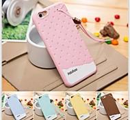 Für iPhone 6 Hülle / iPhone 6 Plus Hülle Muster Hülle Rückseitenabdeckung Hülle Einheitliche Farbe Weich SilikoniPhone 6s Plus/6 Plus /