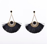 Drop Earrings Acrylic Rhinestone Fabric Simulated Diamond Alloy Jewelry Wedding Party Daily Casual Sports