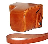 dengpin® кожаный защитный чехол камеры мешок кожи крышки масло с плечевым ремнем для Sony NEX-6 nex6