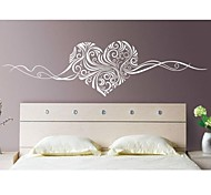 cheap -Abstract Still Life Romance Fashion Florals Wall Stickers Plane Wall Stickers Decorative Wall Stickers, Vinyl Home Decoration Wall Decal