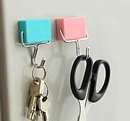 Multi-function Hook With Magnetic Creative Square (Random Color)