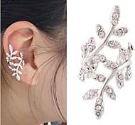 cheap -Women's Flower Ear Cuff - Love Bridal Cute Style Silver Golden Earrings For Wedding Party Casual