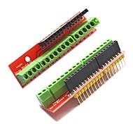 Недорогие -Винт щит расширения v2 терминал доски для Arduino - красный (2 шт)