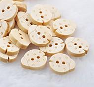 Beetles Scrapbook Scraft Sewing DIY Wooden Buttons(10 PCS)