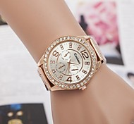 cheap -Women's Quartz Wrist Watch Alloy Band Sparkle / Fashion Silver / Gold / Rose Gold