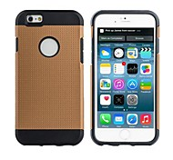 Two-layer 2 in 1 TPU+PC Slim Armor Protective Case for iPhone 6 (Assorted colours)