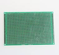 двусторонняя стекловолокна PCB прототип платы для Arduino (8 х 12 см)