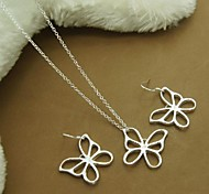 Jewelry-Necklaces / Earrings(Alloy / Silver Plated)Birthday / Engagement / Gift / Party / Daily / Casual Wedding Gifts