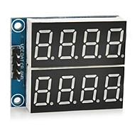 """5v digitale 0.36 """"modulo display a sette segmenti a 4 cifre 2 canali"""