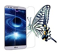 Professional High Transparency LCD Crystal Clear Screen Protector with Cleaning Cloth for LG G2