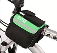 BOI® Fahrradtasche 8LFahrradrahmentasche Wasserdicht Reflexstreifen Tasche für das Rad Polyester Fahrradtasche Radsport 15*11.5*12