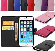 Für iPhone 6 Hülle / iPhone 6 Plus Hülle Geldbeutel / Kreditkartenfächer / mit Halterung / Flipbare Hülle HülleHandyhülle für das ganze