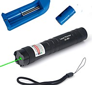cheap -Flashlight Shaped Laser Pointer 532 Aluminum Alloy