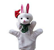 Christmas Snow Rabbit Large-sized Hand Puppets Toys