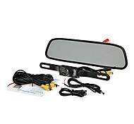 """4.3 """"TFT монитор вид сзади автомобиля система жк резервного копирования обратная комплект камеры ночного видения"""