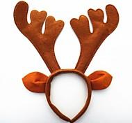 рождественская вечеринка милый олень рога шляпа волосы голова полоса 33 * 34 * 4 см