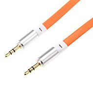 Недорогие -1м 3.28ft аудио 3,5 мм мужчин и аудио 3,5 мм мужской кабеля для мобильного телефона и автомобиля AUX