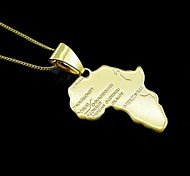 Necklace Pendant Necklaces Jewelry Daily Fashion Alloy Women / Men 1pc Gift Gold