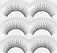 baratos -Pestana Volumizado Natural Maquiagem para o Dia A Dia Comprimento Natural Acessórios para Maquiagem Alta qualidade Diário