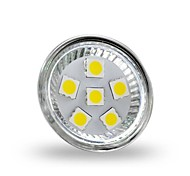 4W GU4(MR11) Focos LED MR11 6 leds SMD 5050 Decorativa Blanco Fresco 350lm 6000-6500K DC 12V