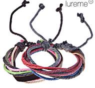 Недорогие -Муж. Жен. Кожаные браслеты Этнический стиль Кожа Ткань Бижутерия Для занятий спортом На каждый день