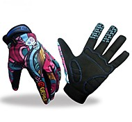 Sports Gloves Bike Gloves / Cycling Gloves Keep Warm Breathable Anti-skidding Protective Full-finger Gloves Mesh Cycling / Bike Fitness