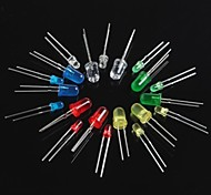 cheap -100PCS Light Emitting Diode LED3mm 5mm Red Green Yellow blue white
