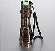 LS021 LED Flashlights / Torch Handheld Flashlights/Torch LED 1800 lm 5 Mode Cree XM-L T6 Adjustable Focus Impact Resistant Nonslip grip