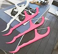 25 pezzi di denti portatile parrucchiere utensili seya contro (colore casuale)