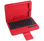 cheap -PU Leather Case w/ Bluetooth Keyboard for iPad mini 3 iPad mini 2 iPad mini