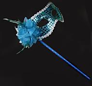Dance Accessories Women's Performance Sequined Plastic Flower(s) Sequins Christmas Halloween