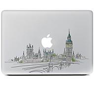 Недорогие -город дизайн декоративные наклейки кожи для MacBook Air / Pro / Pro с сетчатки дисплей