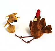 cheap -Chicken Puppets Cute Lovely Cotton Plush Kid's Gift