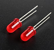 cheap -5mm Red Light Emitting Diode LED Lamps (50 Pieces a Pack)