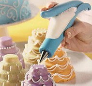 Cool DIY Cake Butter Nozzle Blue Color Creative High Quality Baking Tools