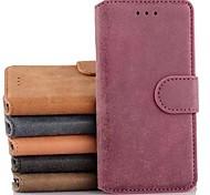 DF роскошных ретро флип кожаный чехол с подставкой и слот для карт памяти для iPhone 6 (ассорти цветов)