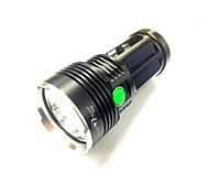 Недорогие -Sky Ray Светодиодные фонари LED 8000LM Люмен 3 Режим Cree XM-L U2 18650Походы/туризм/спелеология / Повседневное использование /