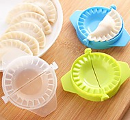 cheap -Dumpling Die,Plastic 11×7.5×1 CM(4.3×3.0×0.4 INCH) Random Color